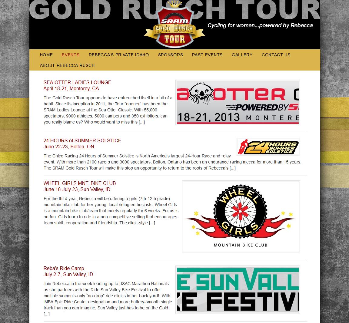 Gold Rusch Tour